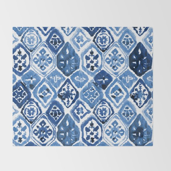Arabesque tile art by hamptonstyledesign