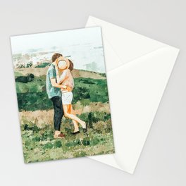 Togetherness #painting Stationery Cards