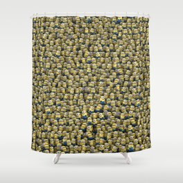 Army of little lamps Shower Curtain