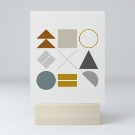 Mid West Geometric 02 Mini Art Print