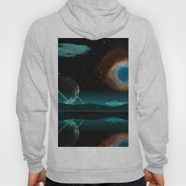 Stars planet nebula Surface of planets Space 3D Graphics Planets Nebulae in space Hoody