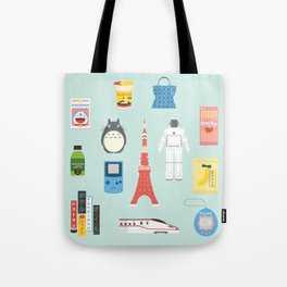 Japan Icons Illustration : PRESENT Tote Bag