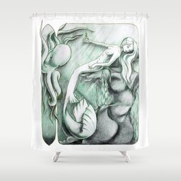 Sea Break Shower Curtain