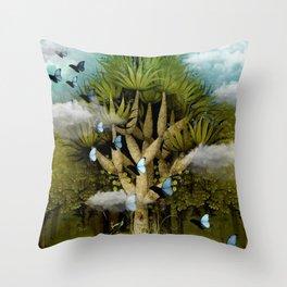 """The Bosch Spring"" Throw Pillow"
