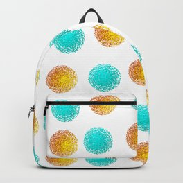 Chaotic balls Backpack