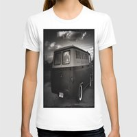ford T-shirts featuring old ford by Joedunnz