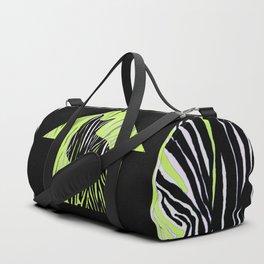 Cat in Grass Duffle Bag