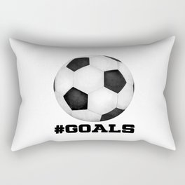 #Goals Rectangular Pillow