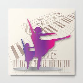 Dance like the angels Metal Print