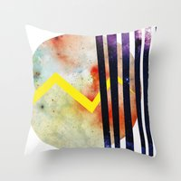 attack on titan Throw Pillows featuring Titan. by Crazy&CoolDesigns