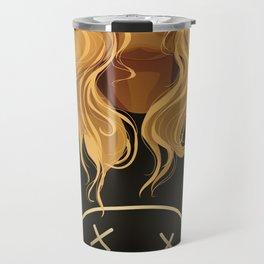 If Looks Could Kill (portrait of Daphney) Travel Mug