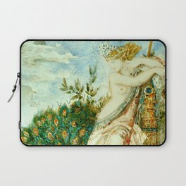 "Gustave Moreau ""The Peacock Complaining to Juno"" Laptop Sleeve"
