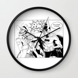 Bat Man VS The Joker Wall Clock