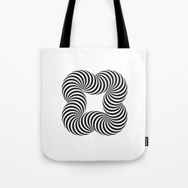 Optical illusive infinity Tote Bag