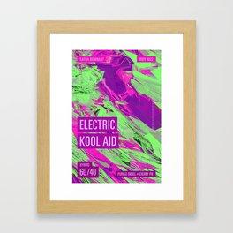Electric Kool Aid Framed Art Print