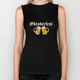 Oktoberfest Tee Shirt Biker Tank