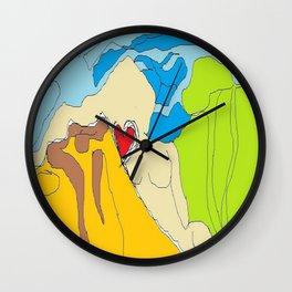 NICE DAYS  Wall Clock