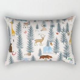 little nature woodland Rectangular Pillow