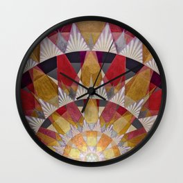 Triangle Explosion Wall Clock