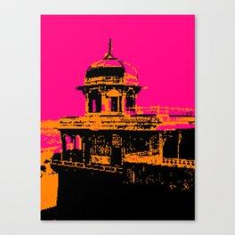 Agra Fort, The Jasmine Tower Canvas Print