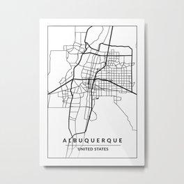 Albuquerque, NM, USA Metal Print