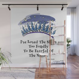Starry Pines Wall Mural