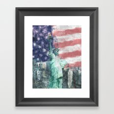 Blessed With Liberty Framed Art Print