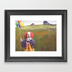 Pennywise's World Framed Art Print
