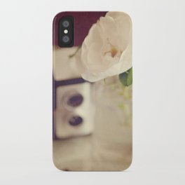 For the love of Vintage iPhone Case