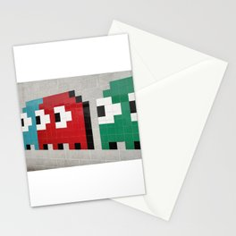Pacman Ghosts Stationery Cards
