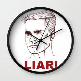 I'm A LIAR! Wall Clock