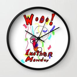 Monday! Wall Clock