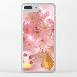 Sakura - Cherryblossom - Cherry blossom - Pink flowers Clear iPhone Case