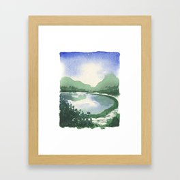 Beacon Hill Park,Victoria BC Framed Art Print