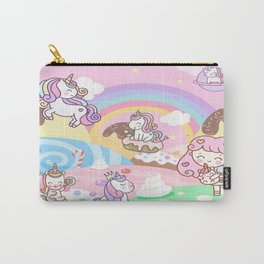 Unicorn Party in Candyland Carry-All Pouch
