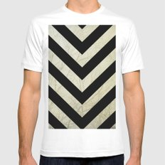 Bold MEDIUM White Mens Fitted Tee