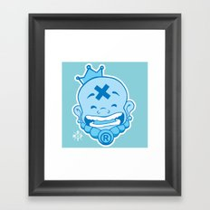 Laughing Buddha Framed Art Print