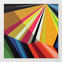 Canvas Prints featuring Amazing Runner No. 6 by Bakmann Art