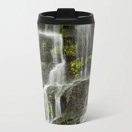 Ho Opi'i Waterfall  Metal Travel Mug
