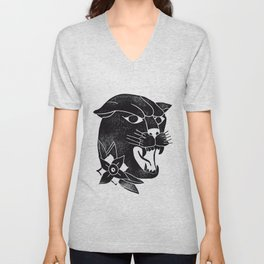 Black Panther Unisex V-Neck