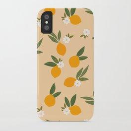 Cute Oranges iPhone Case