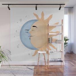 Moon & Sun Wall Mural