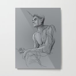Uni Metal Print