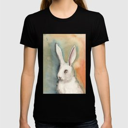 Portrait of a White Rabbit T-shirt