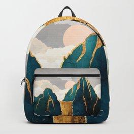 Golden Waterfall Backpack