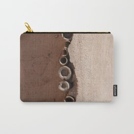 rotated rustic roof Carry-All Pouch