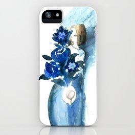 Quiet heart iPhone Case