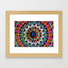 Carreta Wheel Framed Art Print