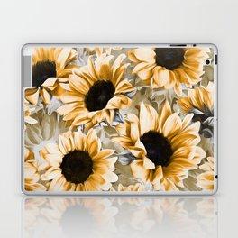 Dreamy Autumn Sunflowers Laptop & iPad Skin