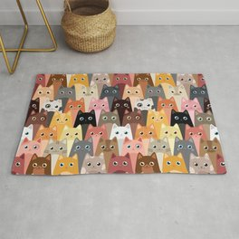 Cats Pattern Rug